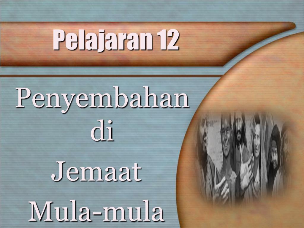 Pelajaran 12