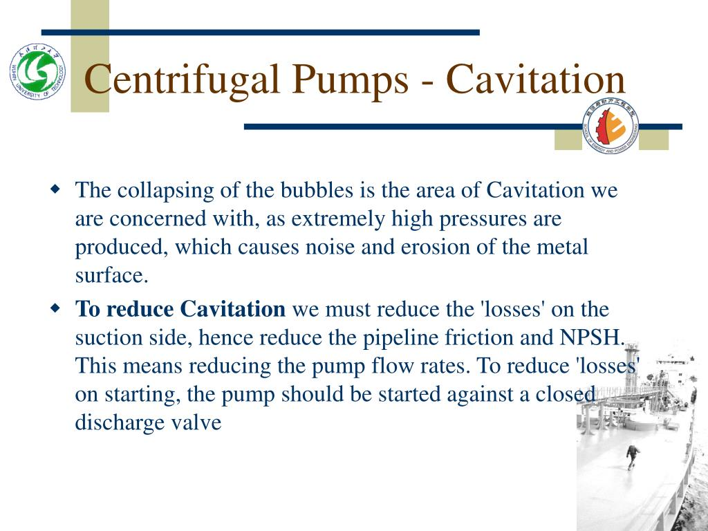 Centrifugal Pumps - Cavitation