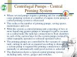 centrifugal pumps central priming system28