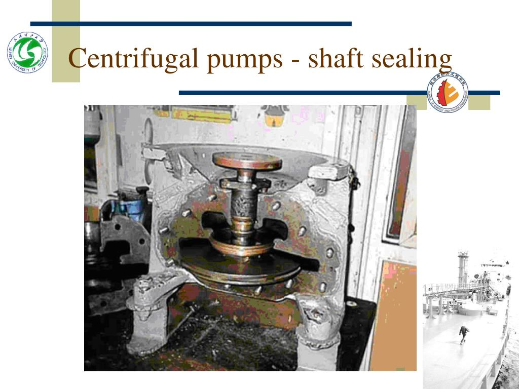 Centrifugal pumps - shaft sealing