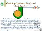 centrifugal pumps theory and characteristics15