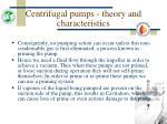 centrifugal pumps theory and characteristics16