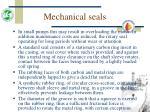 mechanical seals46