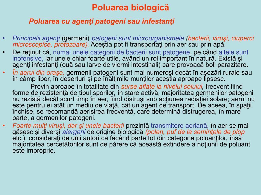 Poluarea biologică