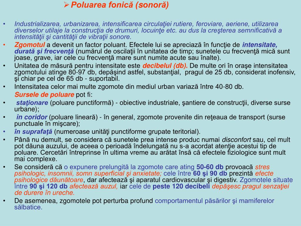 Poluarea fonică (