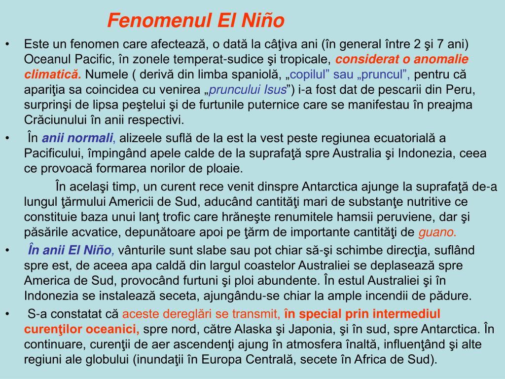 Fenomenul El Niño