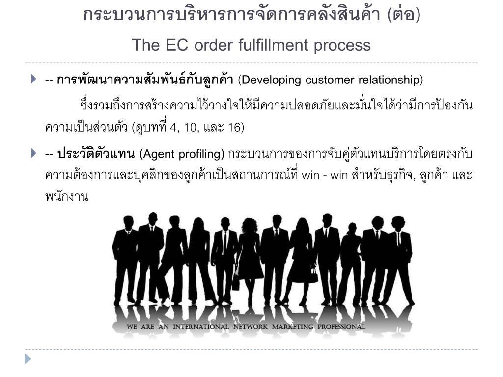 กระบวนการบริหารการจัดการคลังสินค้า (ต่อ)
