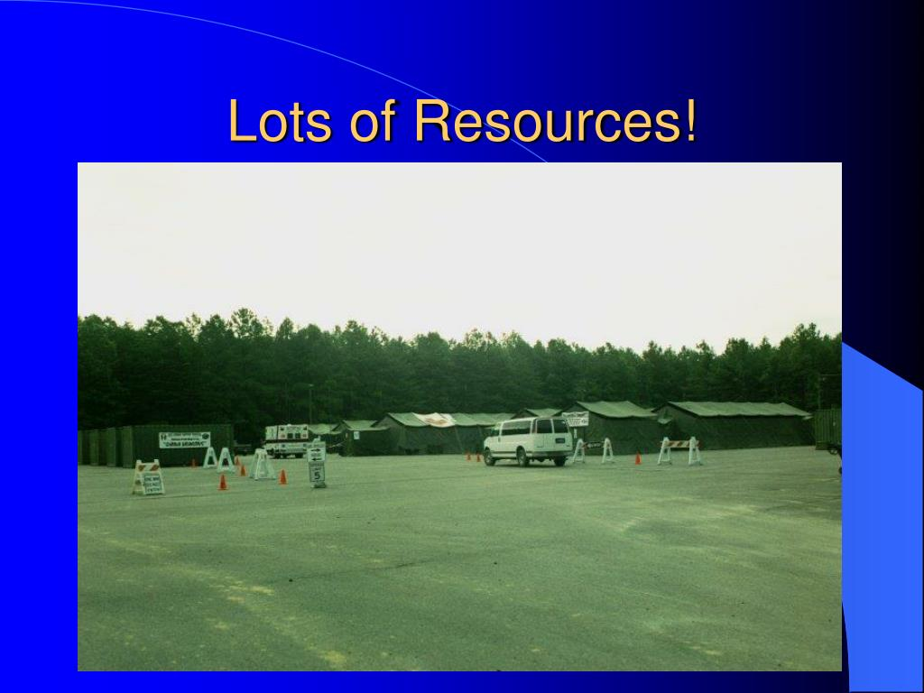 Lots of Resources!