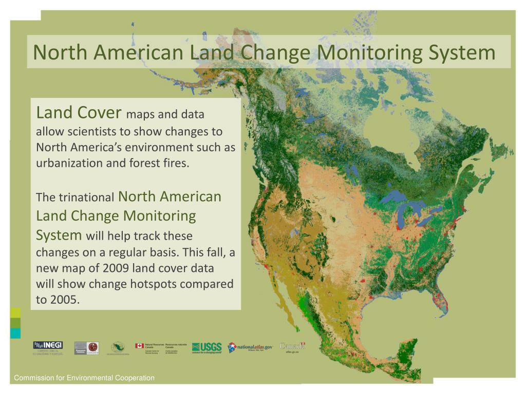 North American Land Change Monitoring System
