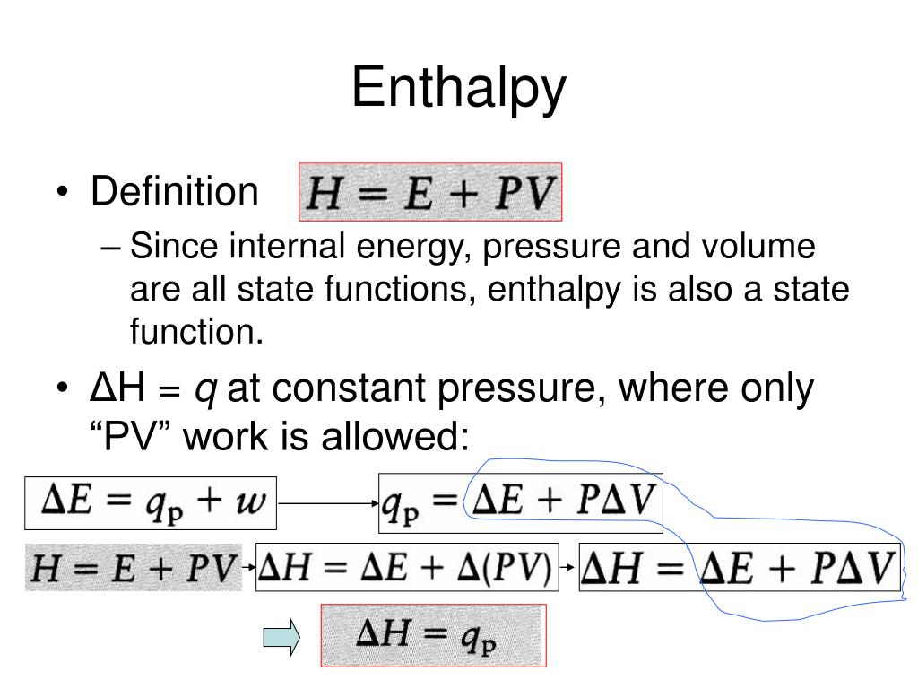 PPT - Energy, Enthalpy, and Thermochemistry PowerPoint ...