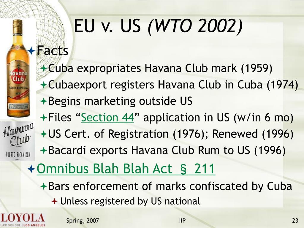 EU v. US