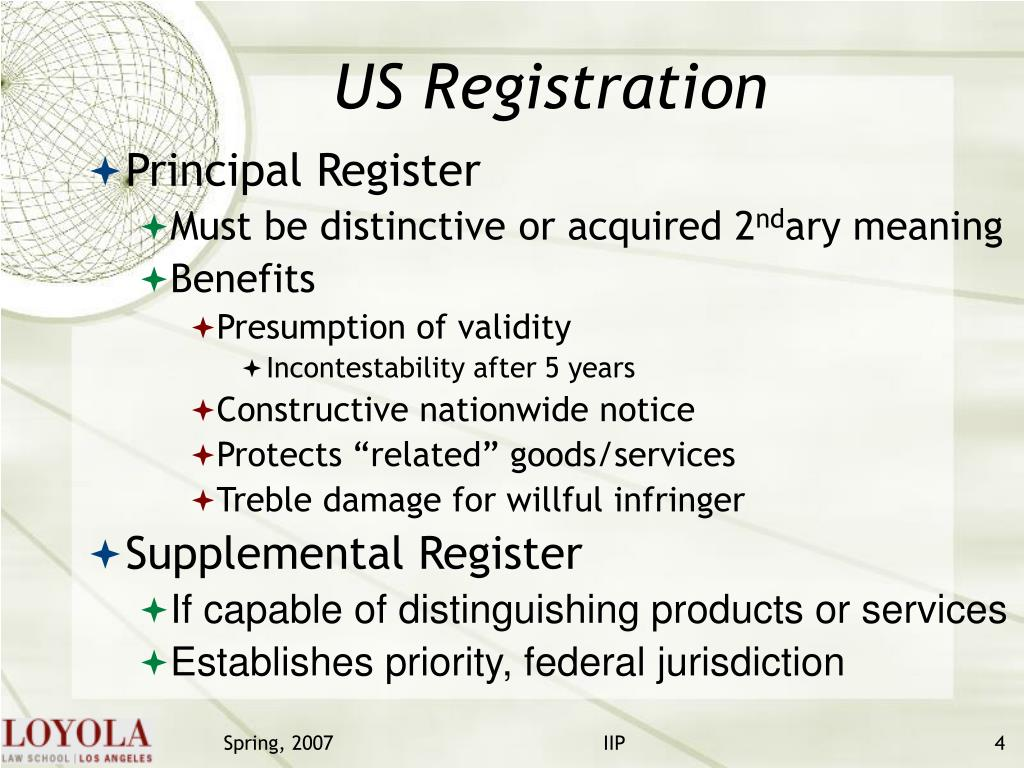 US Registration