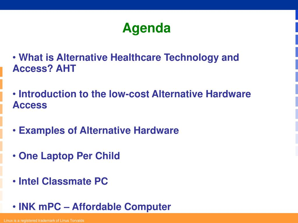 What is Alternative Healthcare Technology and Access? AHT