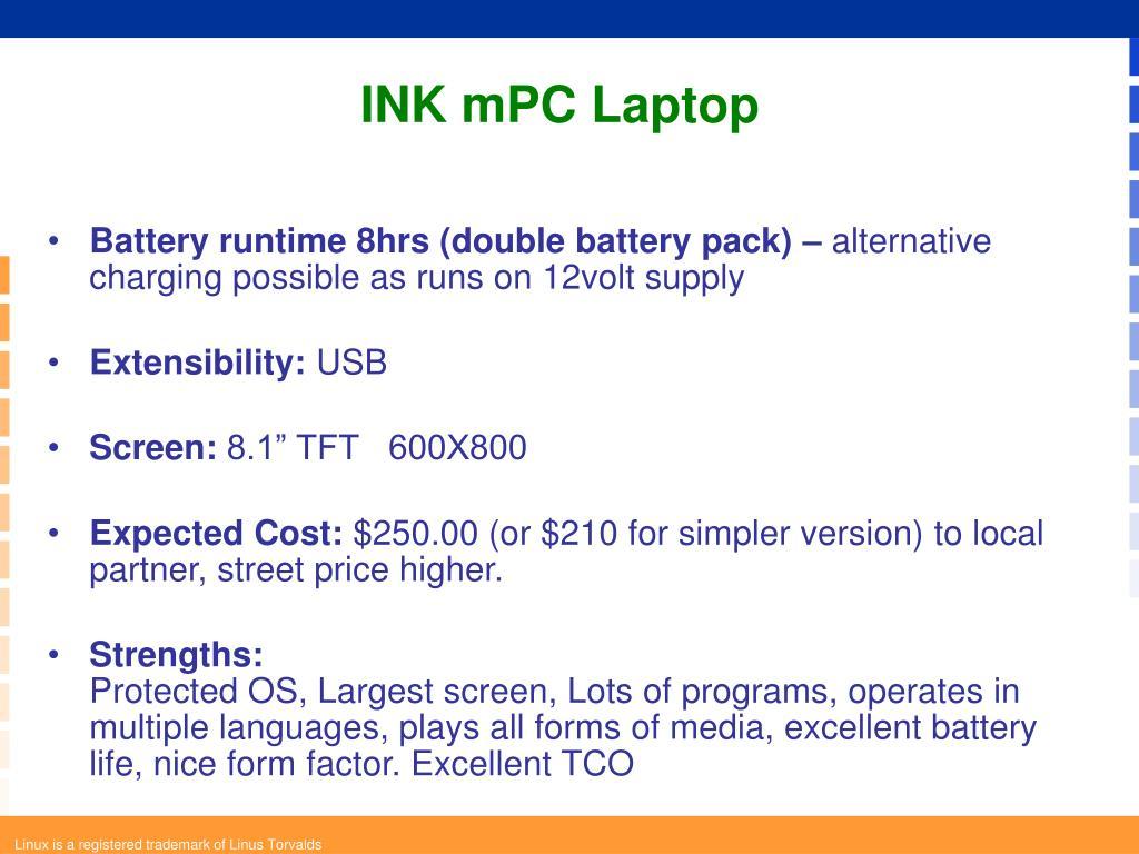 INK mPC Laptop