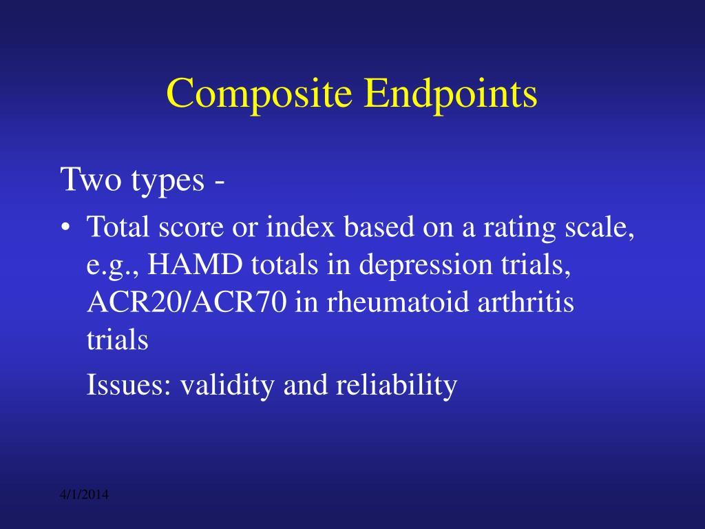 Composite Endpoints