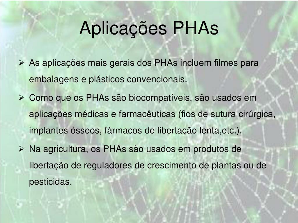 Aplicações PHAs
