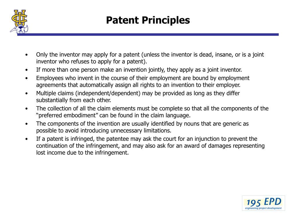 Patent Principles