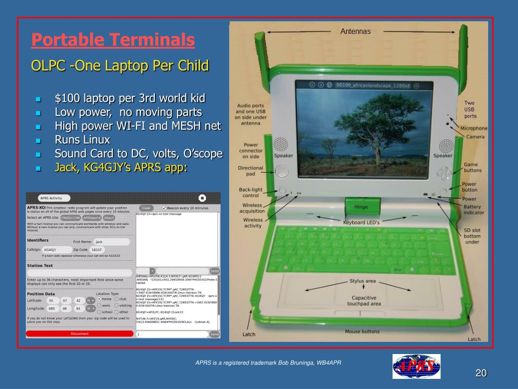 OLPC -One Laptop Per Child