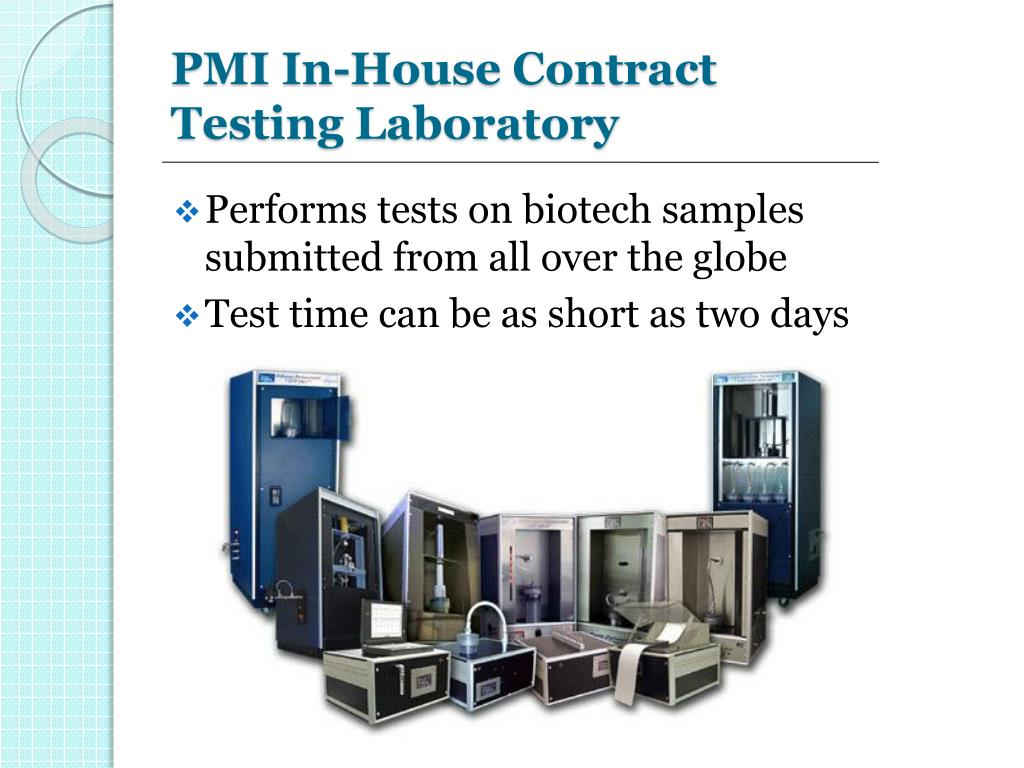 PMI In-House Contract