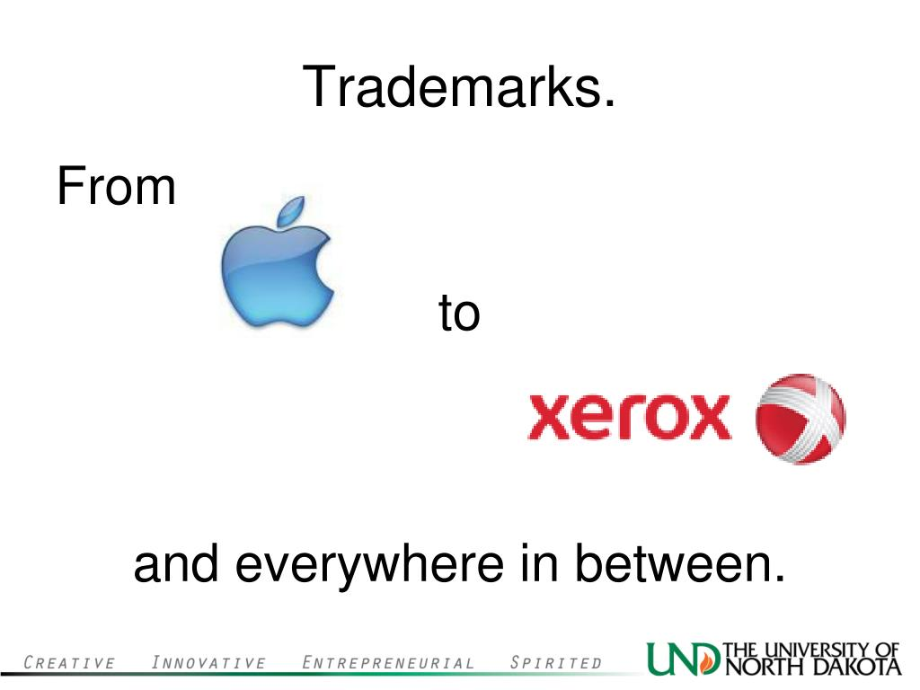 Trademarks.
