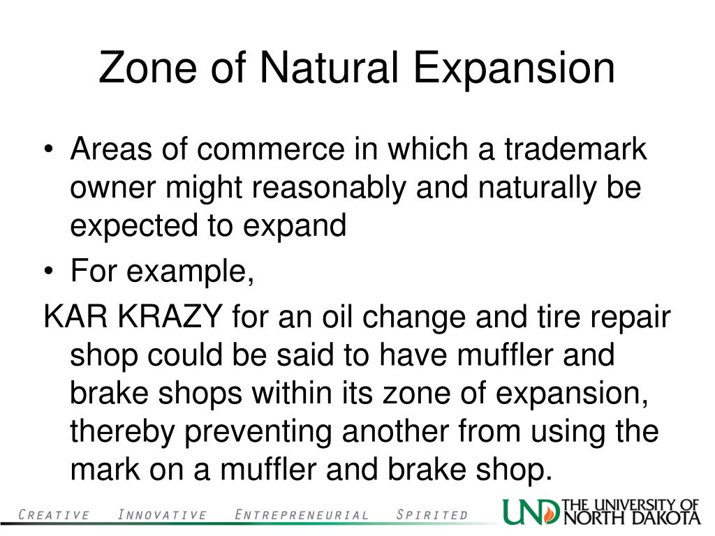 Zone of Natural Expansion