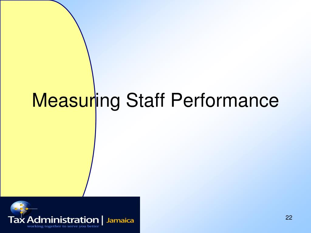 Measuring Staff Performance