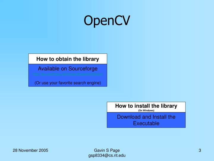 How to obtain the library