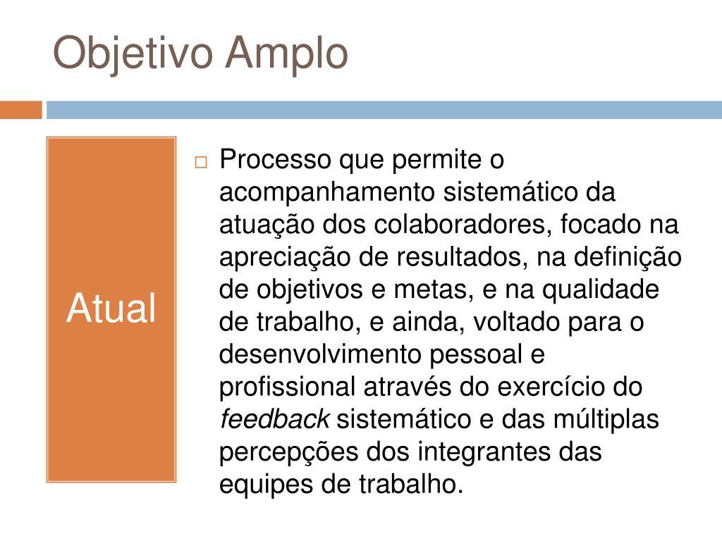 Objetivo Amplo