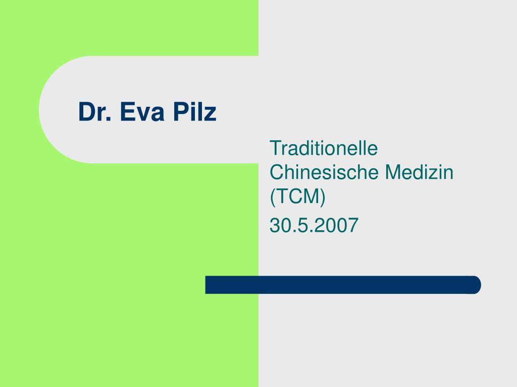 dr eva pilz