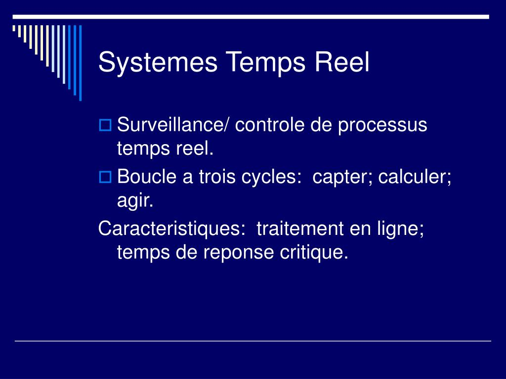 Systemes Temps Reel