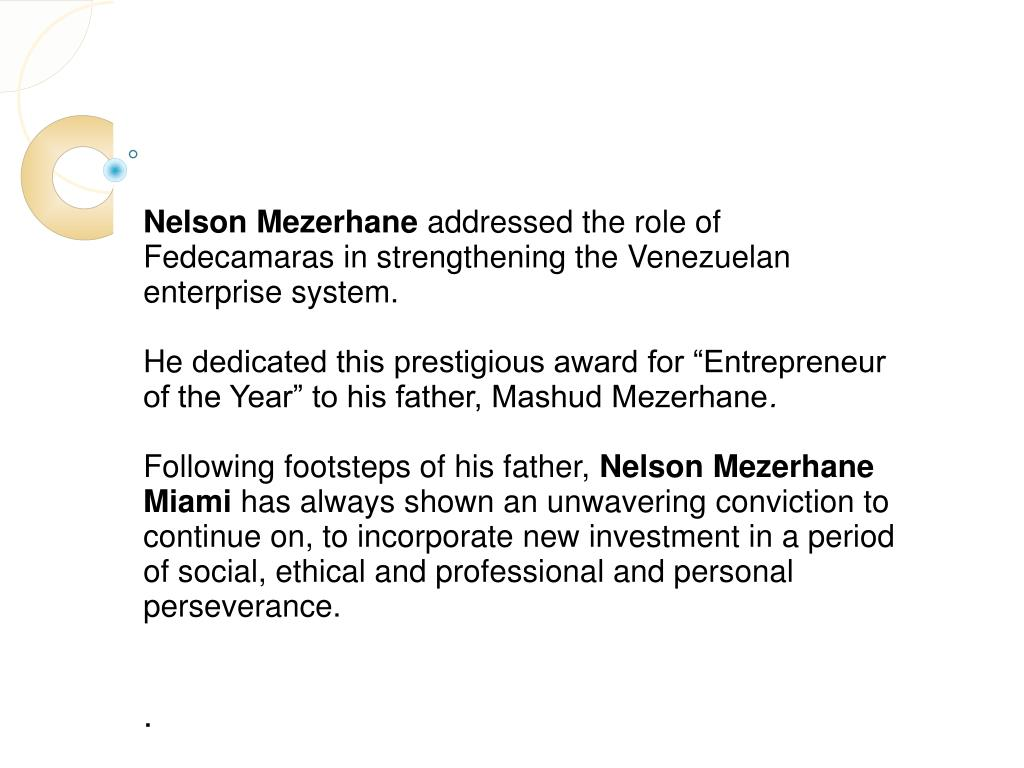 Nelson Mezerhane