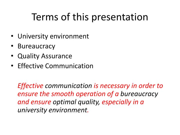 Terms of this presentation l.jpg