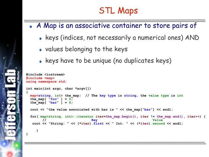 STL Maps