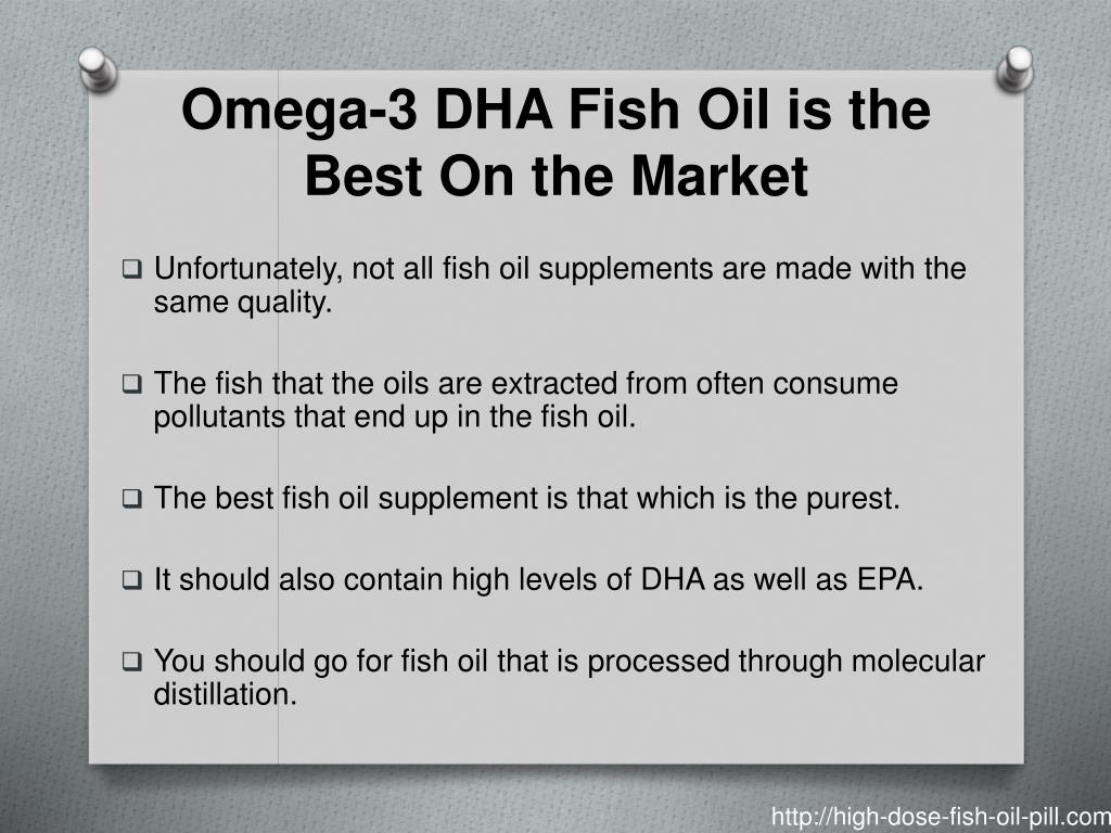 Omega-3 DHA Fish Oil is the Best On the