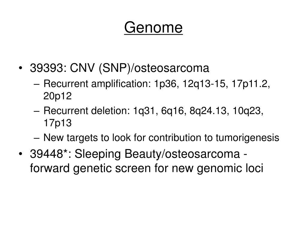 Genome