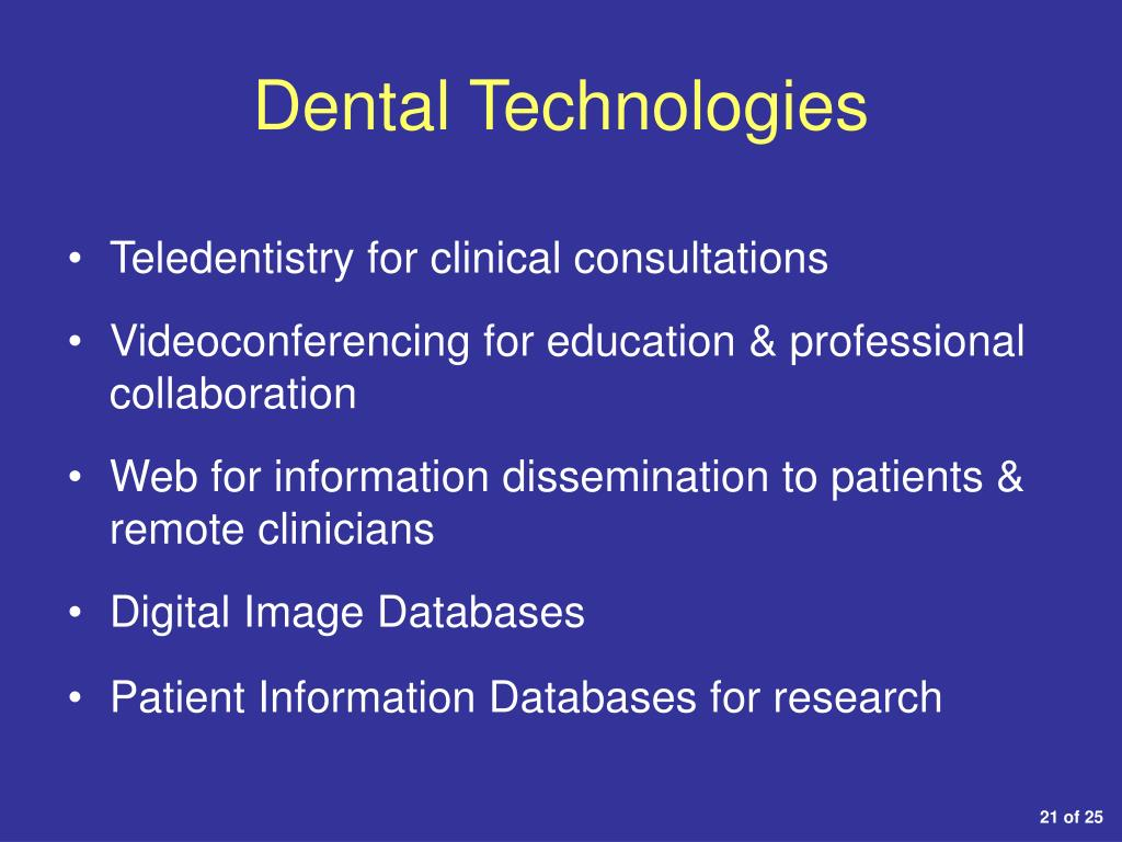 Dental Technologies