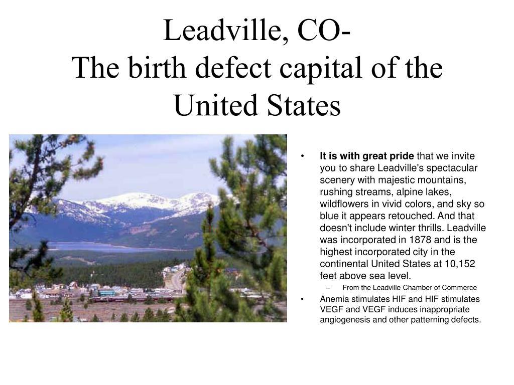 Leadville, CO-