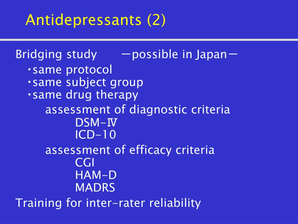 Antidepressants (2)