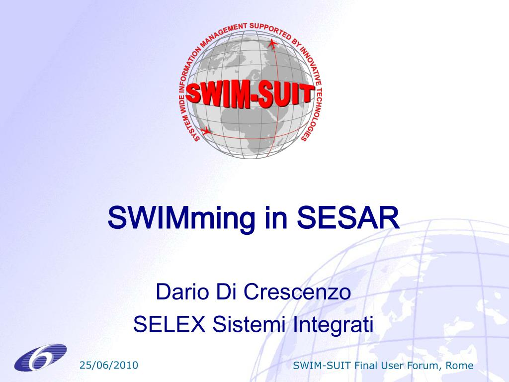 SWIMming in SESAR