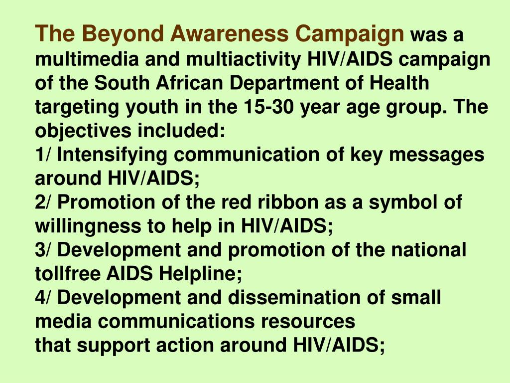 The Beyond Awareness Campaign