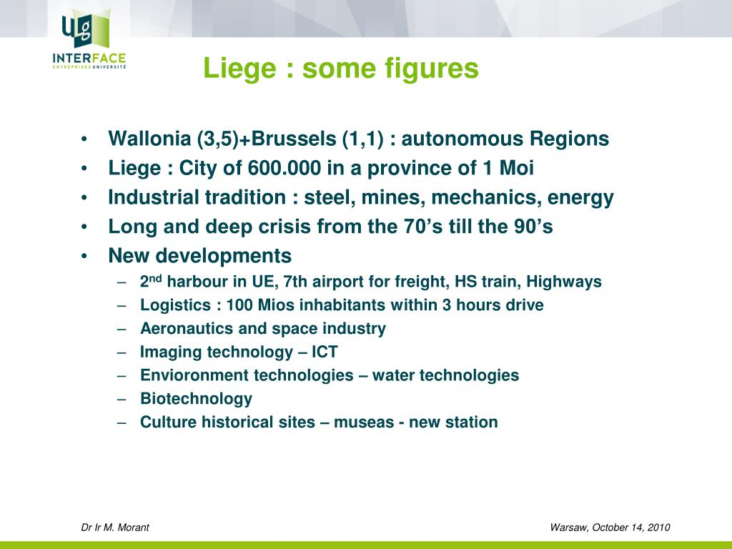 Liege : some figures