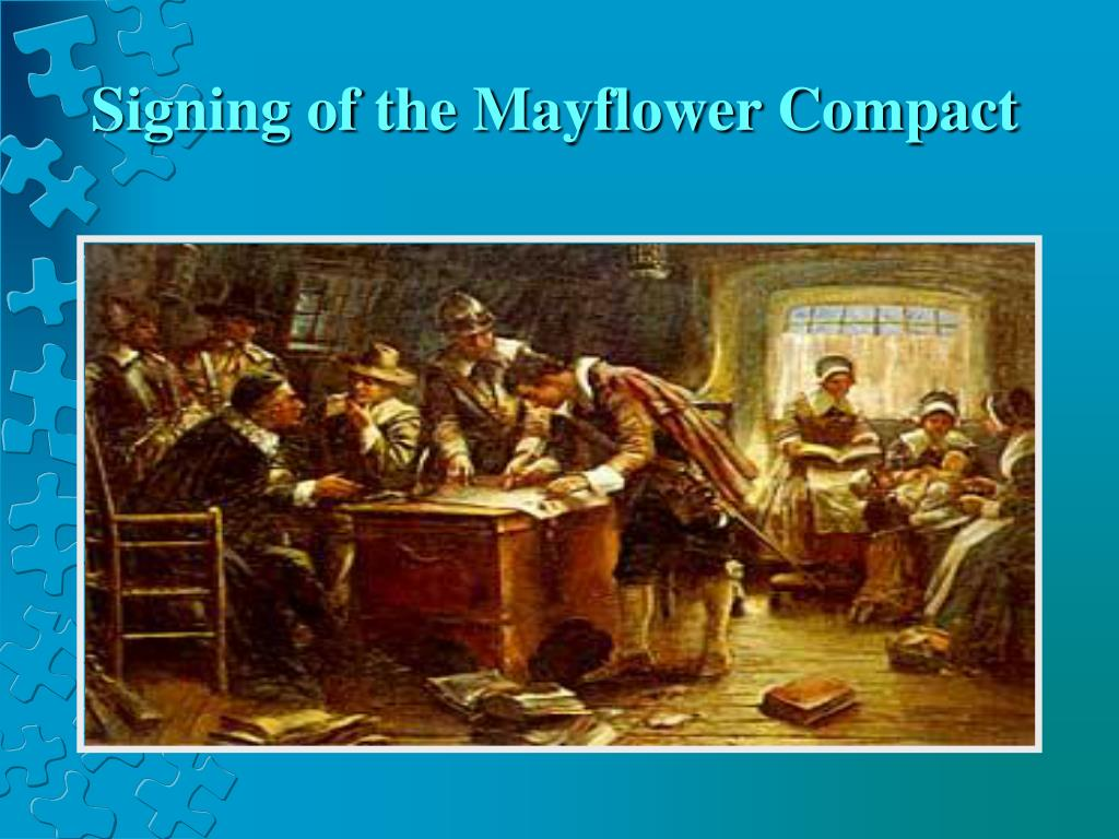 the importance of divine authority in the mayflower compact On september 6, 1620, 132 passengers and 30 crew departed from plymouth, england on the mayflower for the new world among them were a small group of separatists, or pilgrims, who had rejected the state church and divine rule of king james i, and were seeking a place where they could live.