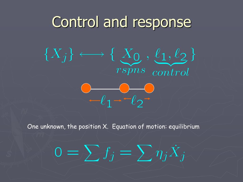 Control and response