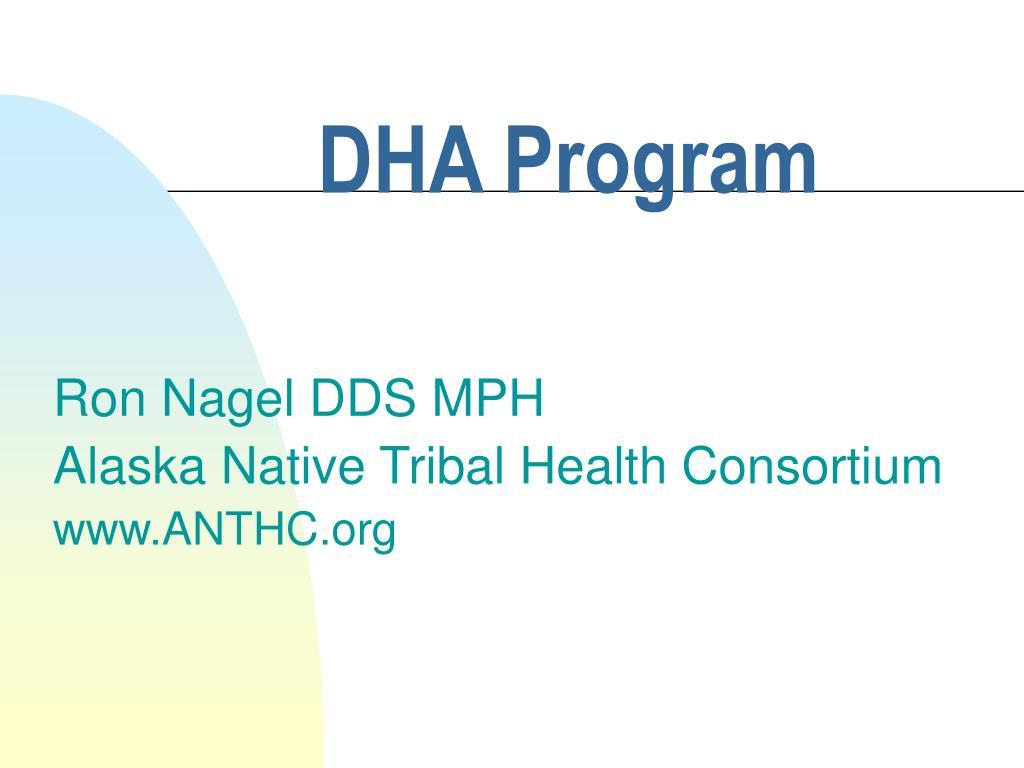 DHA Program