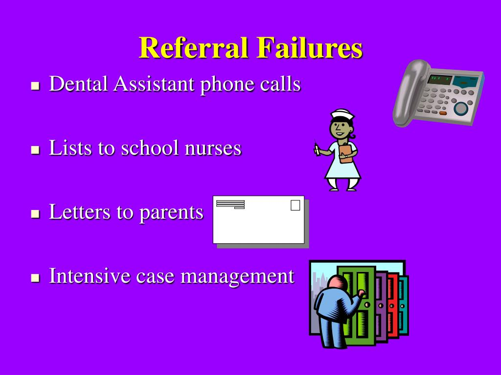 Referral Failures
