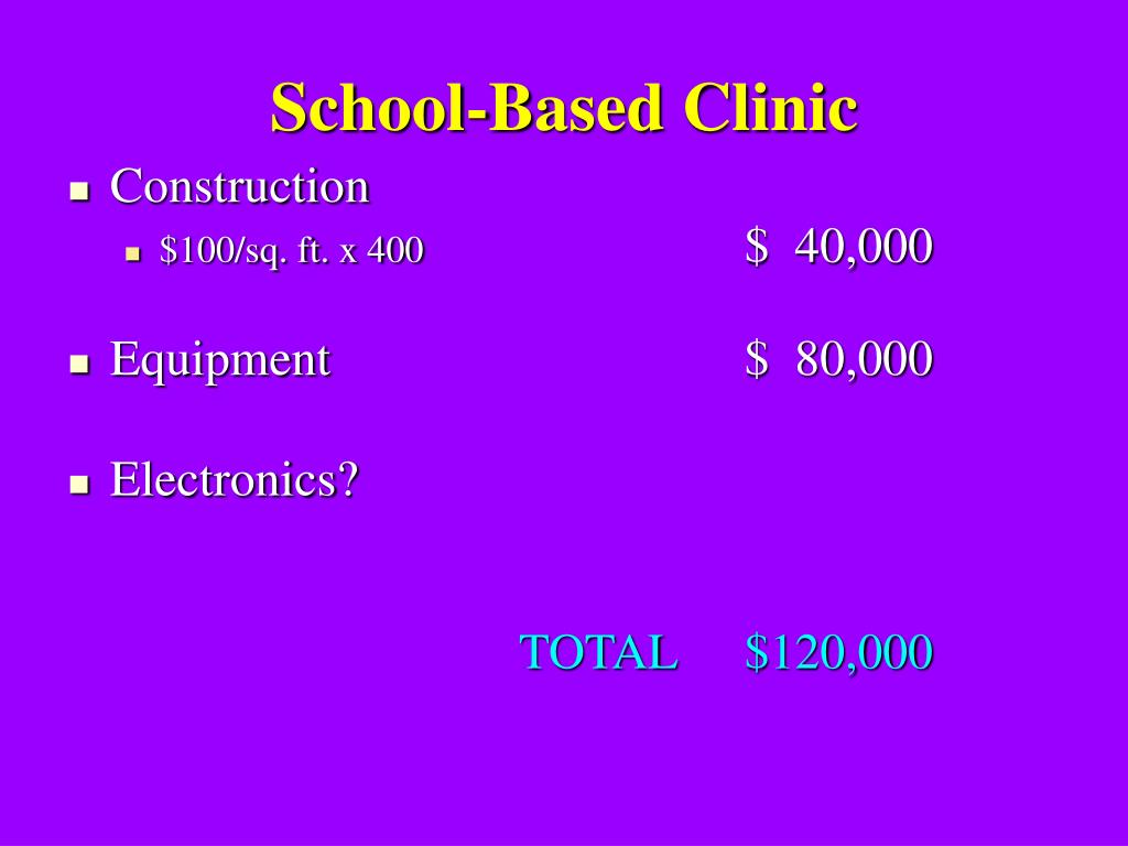 School-Based Clinic