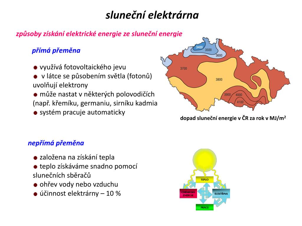 sluneční elektrárna