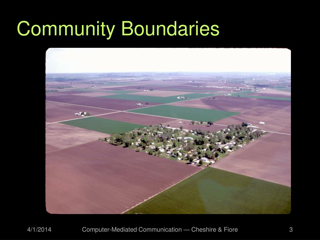Community Boundaries