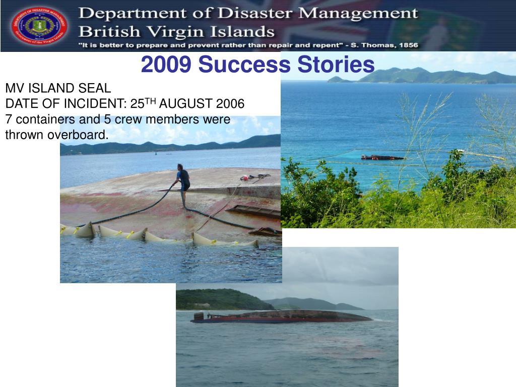 2009 Success Stories