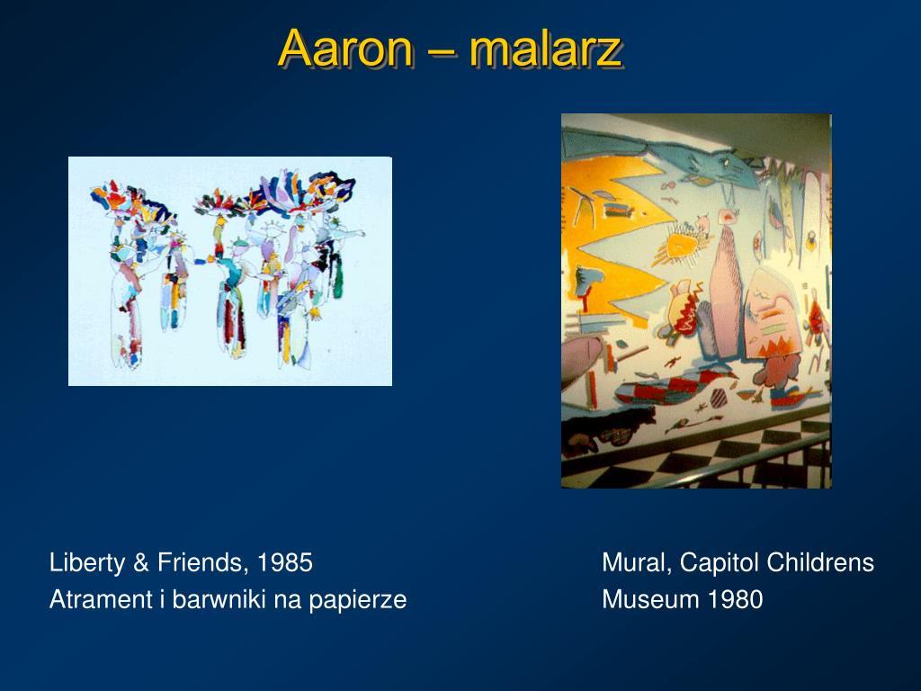 Aaron – malarz